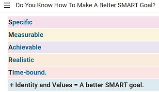 a better smart goal 2