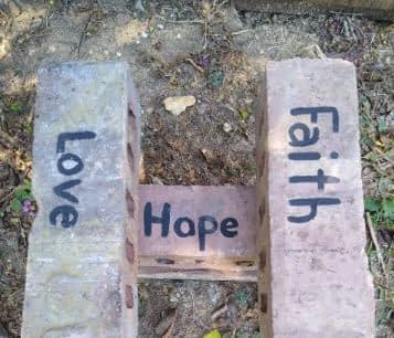 cover Hope is the foundation for faith and love