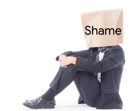 Shame is not my identity.