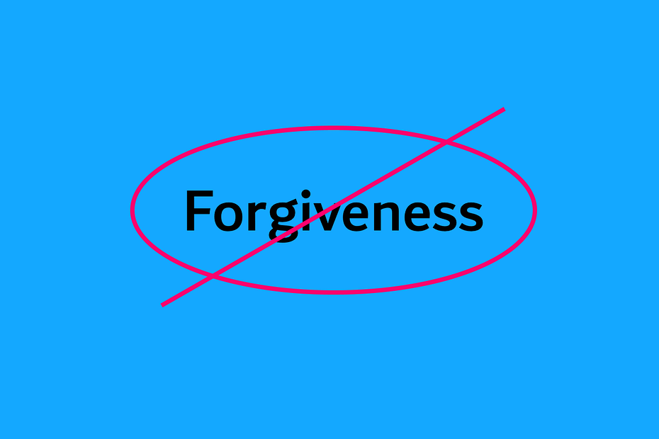 what forgiveness is not focus